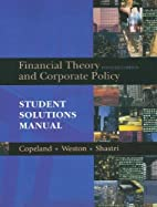 Student Solutions Manual for Financial…