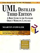 UML Distilled: A Brief Guide to the Standard…