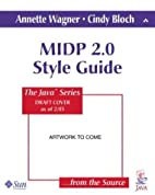 MIDP 2.0 Style Guide for the Java 2…