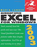Langer, Maria: Microsoft Office Excel 2003 for Windows