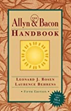 Allyn & Bacon Handbook (MLA Update), The…