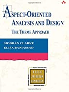 Aspect-Oriented Analysis and Design: The…