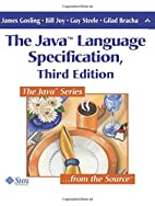 The Java Language Specification, 3rd Edition…