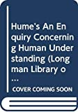 Hume, David B: Hume's An Enquiry Concerning Human Understanding (Longman Library of Primary Sources in Philosophy)