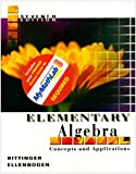 Bittinger, Marvin L.: Elementary Algebra: Concepts and Applications [With Mymathlab Access]