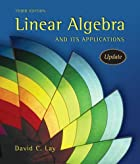 Linear Algebra and Its Applications by David&hellip;