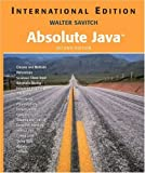 Savitch, Walter J.: Absolute Java