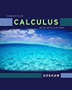 Concepts of calculus with applications by…