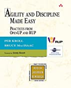 Agility and Discipline Made Easy: Practices…