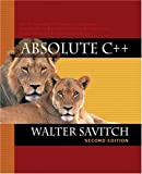 Savitch, Walter: Absolute C++