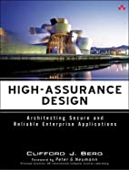 High-Assurance Design: Architecting Secure…