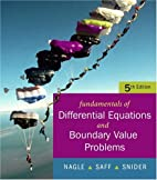 Fundamentals of Differential Equations with…