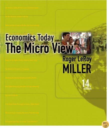 Student Value Edition for Economics Today: The Micro View plus MyEconLab plus eBook 1-semester Student Access Kit (14th Edition) (Books a La Carte)