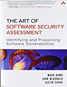 The Art of Software Security Assessment:…