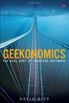 Geekonomics: The Real Cost of Insecure…