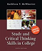 Study and Critical Thinking Skills in…