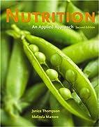Nutrition: An Applied Approach, MyPyramid…