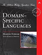 Domain-Specific Languages (Addison-Wesley…