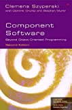 Szyperski, Clemens: Component Software: Beyond Object-Oriented Programming (paperback) (2nd Edition) (Addison-Wesley Component Software)