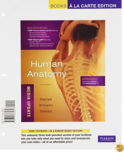 Human Anatomy, Media Update, Books a La Carte Plus MasteringA&P -- Access Card Package (6th Edition)
