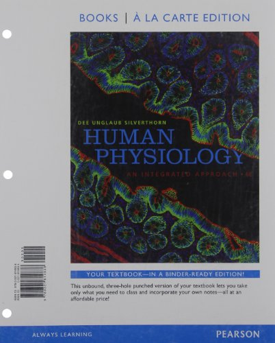 human-physiology-an-integrated-approach-books-a-la-carte-edition-6th-edition