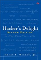 Hacker's Delight (2nd Edition) by Henry…