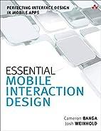 Essential Mobile Interaction Design:…