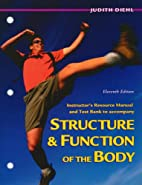 Structure & Function of the Body by Gary A.…
