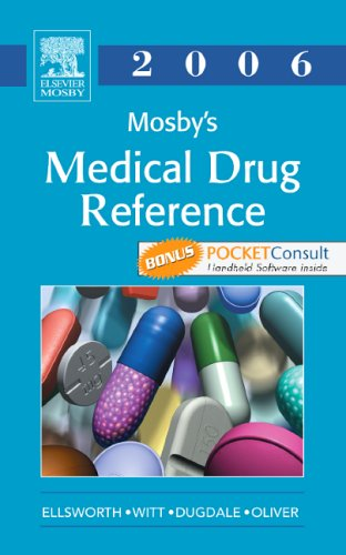 mosbys-medical-drug-reference-2006-textbook-with-pocketconsult-handheld-software