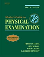 Mosby's Guide to Physical Examination by…