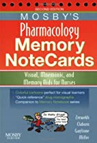 Mosby's Pharmacology Memory NoteCards:…
