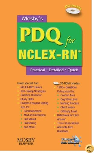 Mosby's PDQ for NCLEX-RN®, 1e