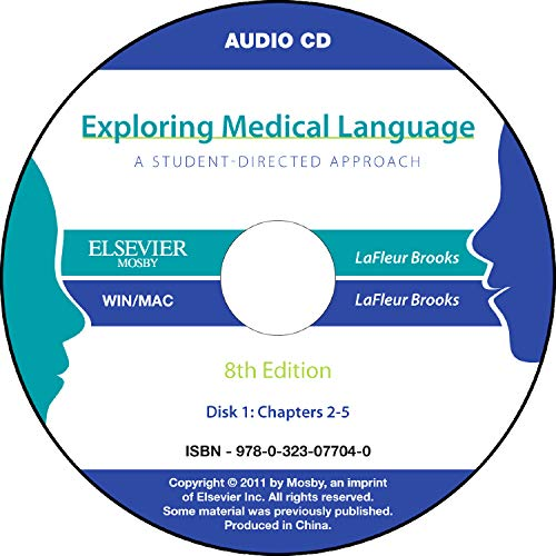 audio-cds-for-exploring-medical-language-8e