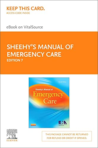 sheehys-manual-of-emergency-care-elsevier-on-vitalsource-retail-access-card-7e