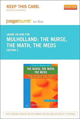 the-nurse-the-math-the-meds-elsevier-on-intel-education-study-retail-access-card-drug-calculations-using-dimensional-analysis-2e