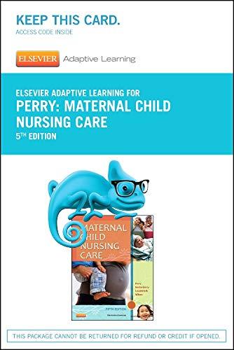 elsevier-adaptive-learning-for-maternal-child-nursing-care-access-card-5e