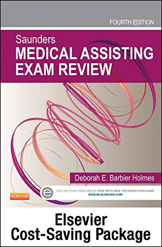 saunders-medical-assisting-exam-review-elsevier-on-vitalsource-evolve-access-retail-access-cards-4e