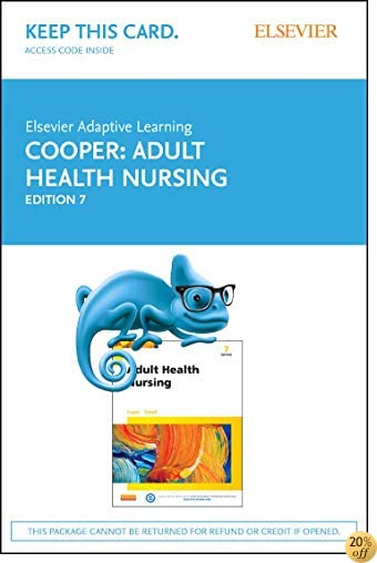 Elsevier Adaptive Learning for Adult Health Nursing (Retail Access Card), 7e