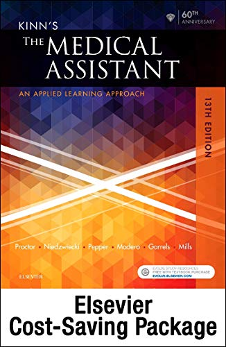 kinns-the-medical-assistant-text-study-guide-virtual-medical-office-for-medical-assisting-package-13e