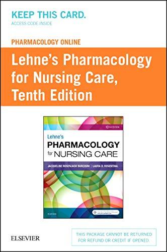 pharmacology-online-for-lehnes-pharmacology-for-nursing-care-access-card-10e