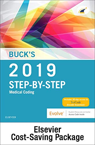 bucks-medical-coding-online-for-step-by-step-medical-coding-2019-edition-access-code-and-textbook-package-1e