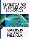 David R. Anderson: Statistics for Business and Economics