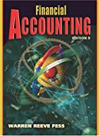 Financial Accounting (9th Ed) by Carl S.…