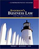 David P. Twomey: Anderson's Business Law and The Legal Environment, Comprehensive Volume