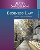 Business Law and the Legal Environment,…