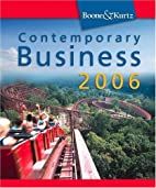 Contemporary Business 2006 (with Audio…