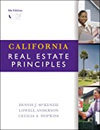 California Real Estate Principles by Dennis…