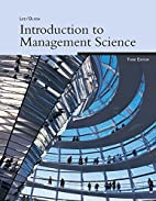 Introduction to Management Science, 3e by…