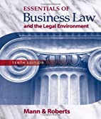 Essentials of Business Law and the Legal…
