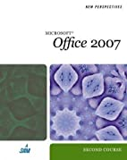 New Perspectives on Microsoft Office 2007,…